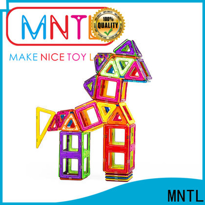 Newest magnetic construction toys deep blue, DIY For Toddler