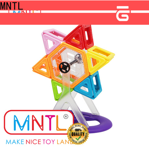MNTL 2019 magnet toy building blocks DIY For Toddler