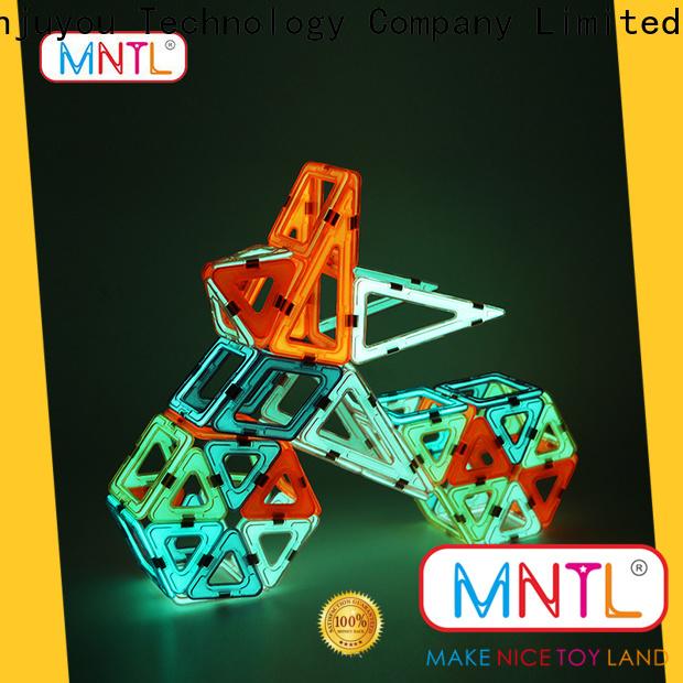 MNTL blue, magnet toy blocks DIY For Children