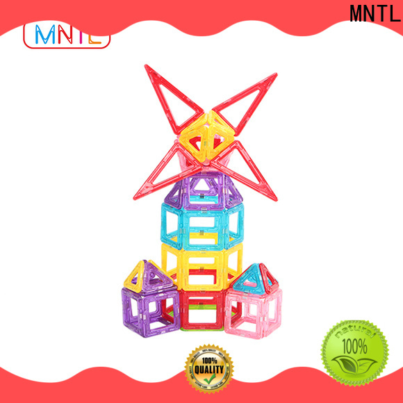best magnetic toys magnetic building block set green, bulk production For Children