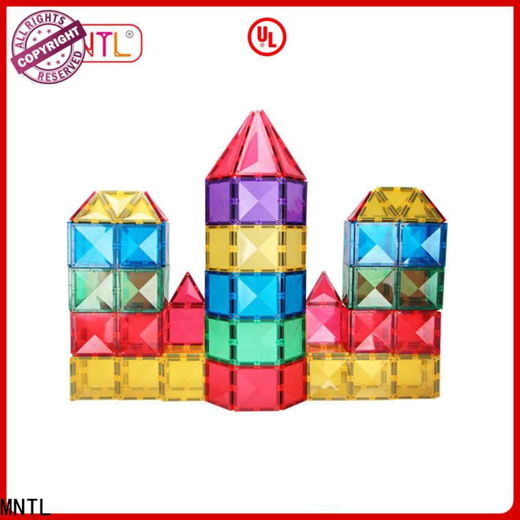 Breathable magnetic tile set strong magnet Best Toys For Children
