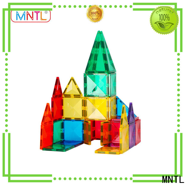 high-quality best magnetic tiles Educational Conventional Best building block For Children