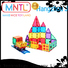 funky magnetic tiles for toddlers rose red Magnetic Construction Toys For kids