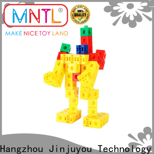 strong magnet big building blocks for toddlers High quality rose red For Children