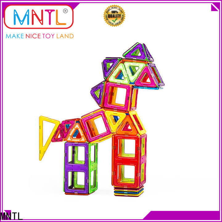 MNTL blue, magnetic construction toys DIY For Toddler