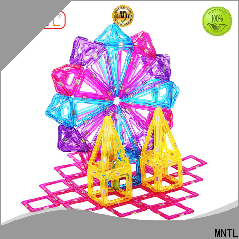 MNTL funky magnetic squares and triangles for wholesale For Children