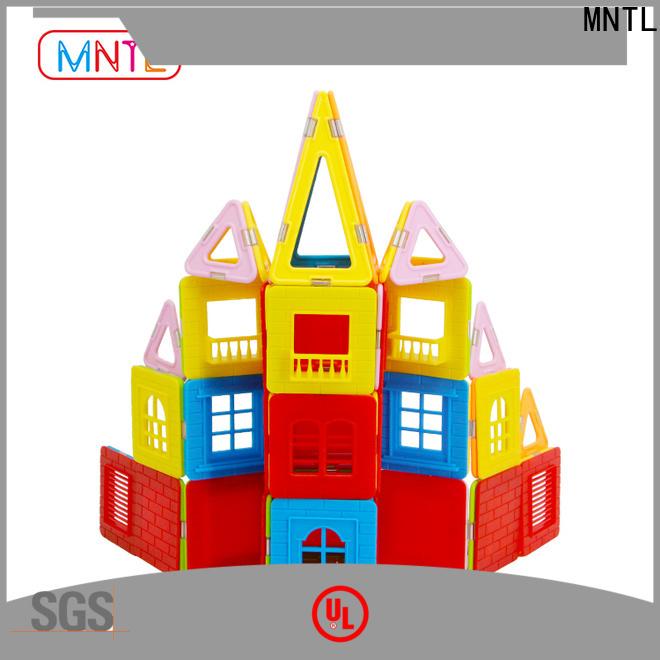 MNTL High quality magnetic building sticks ODM For Toddler