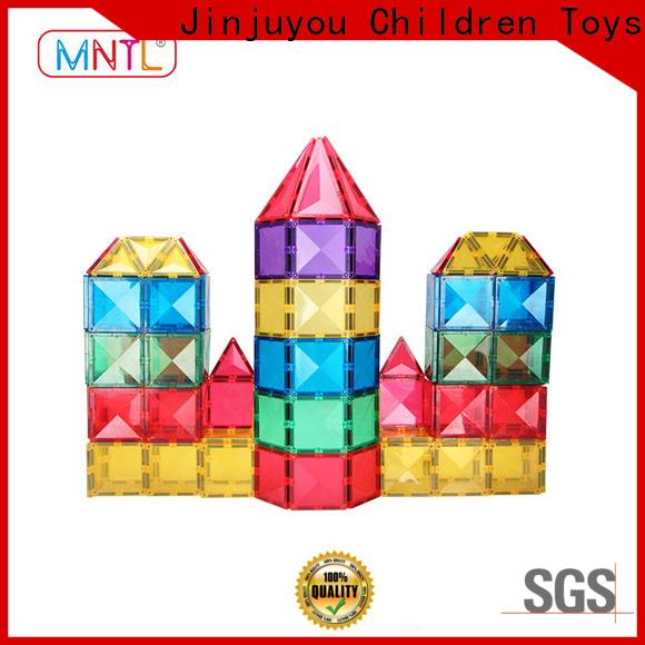 MNTL deep blue magnetic shape tiles Best building block For Children