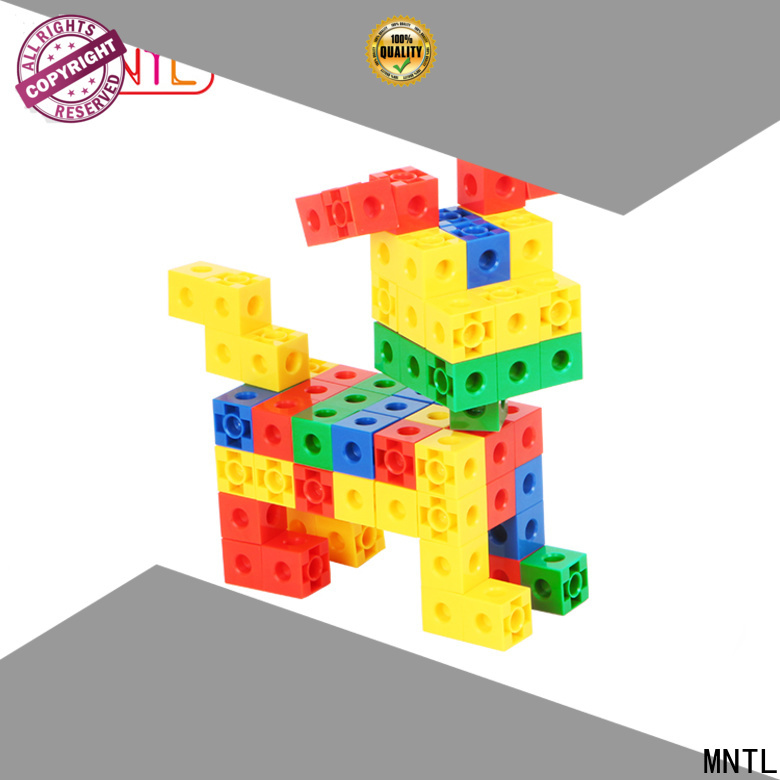 MNTL yellow, toy building bricks plastic ABS plastic For Toddler
