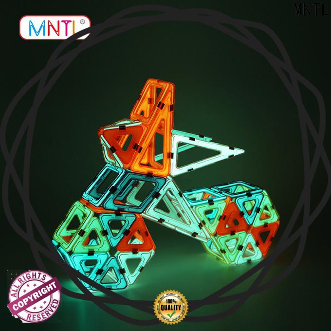 MNTL green, magnetic construction set DIY For Toddler