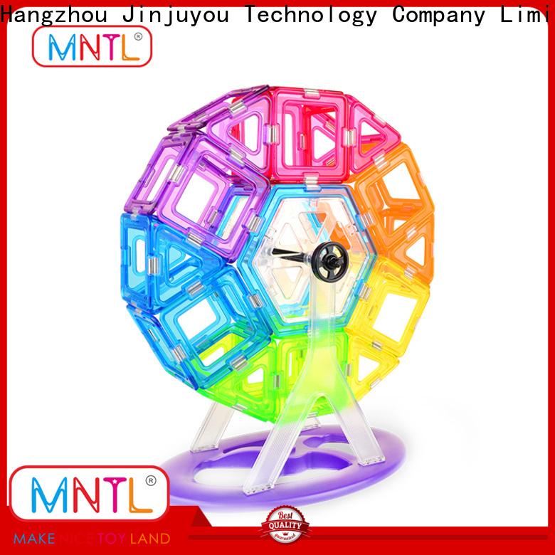 MNTL on-sale magnetic building blocks for toddlers free sample For Children