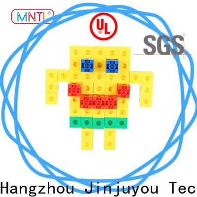 MNTL Recreational plastic building bricks High quality For Toddler