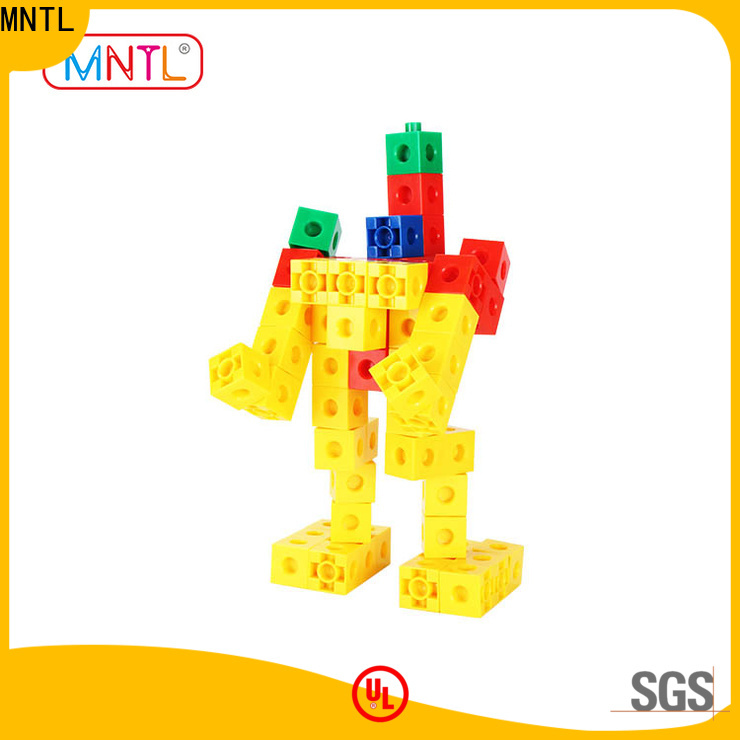 MNTL green, toy building blocks plastic strong magnet For kids