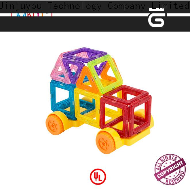 2019 hot toys 3d magnetic building blocks deep blue for wholesale For Children