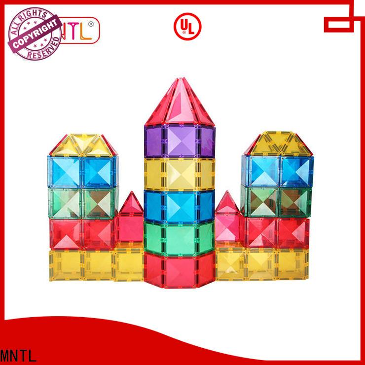 latest magnetic tile set Educational Conventional Best building block For kids