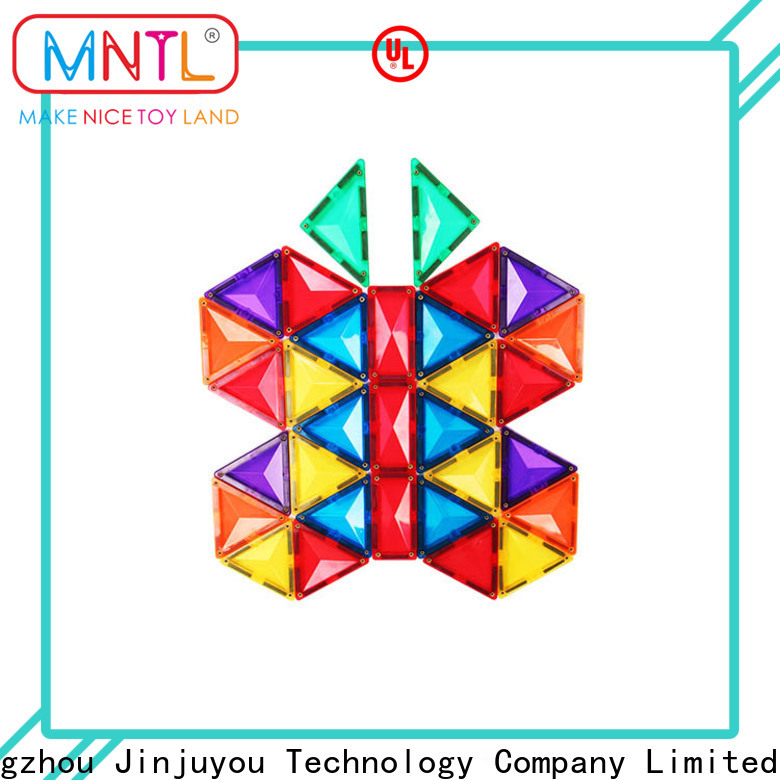 at discount magnetic shape tiles High quality Best building block For kids