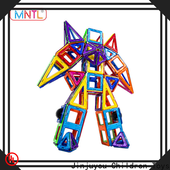 MNTL Newest building magnets DIY For Children