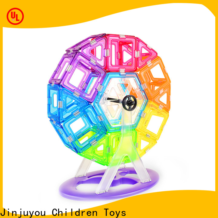 portable best magnetic blocks High quality customization For Children