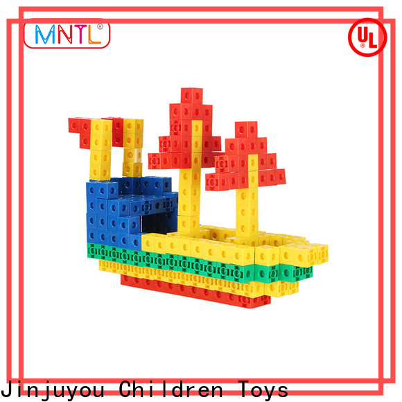 MNTL ABS plastic plastic construction toys rose red For kids