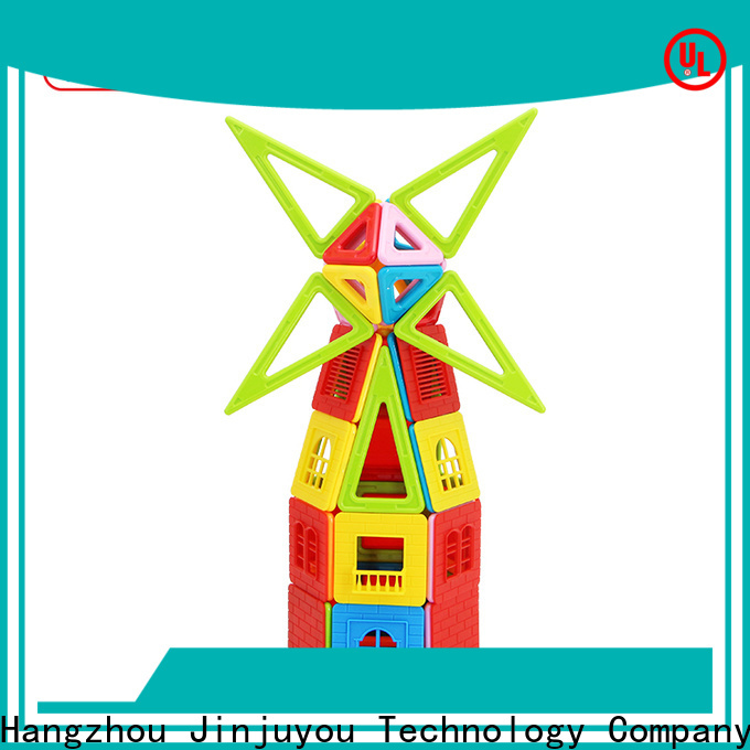 Hot building block magnet block toy orange, Best building block For kids
