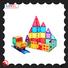 MNTL ABS plastic best magnetic tiles Best building block For kids
