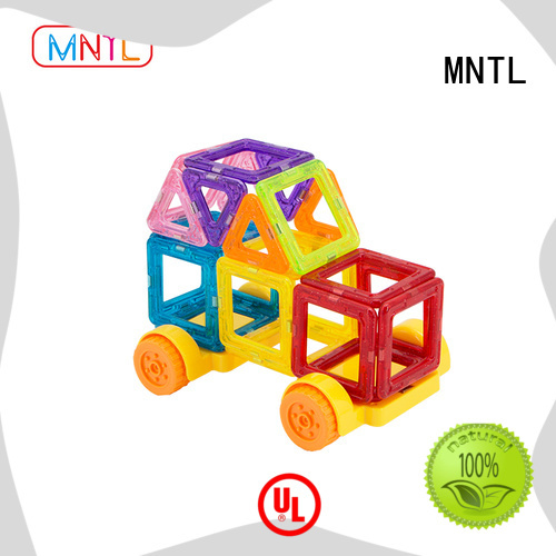 MNTL ABS plastic Mini building magnets ODM For kids over 3 years