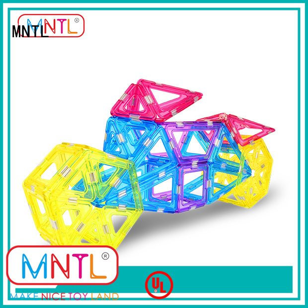 solid mesh Crystal magnetic toys strong magnet ODM For kids