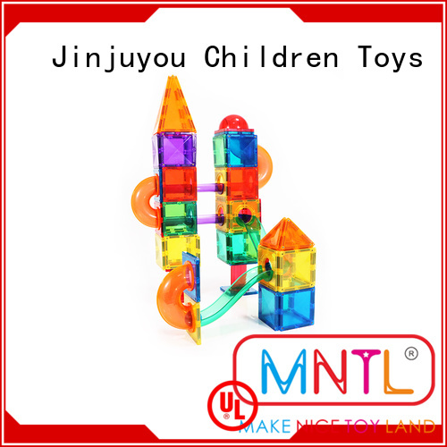 at discount Magnetic Building Tiles ABS plastic DIY For Children
