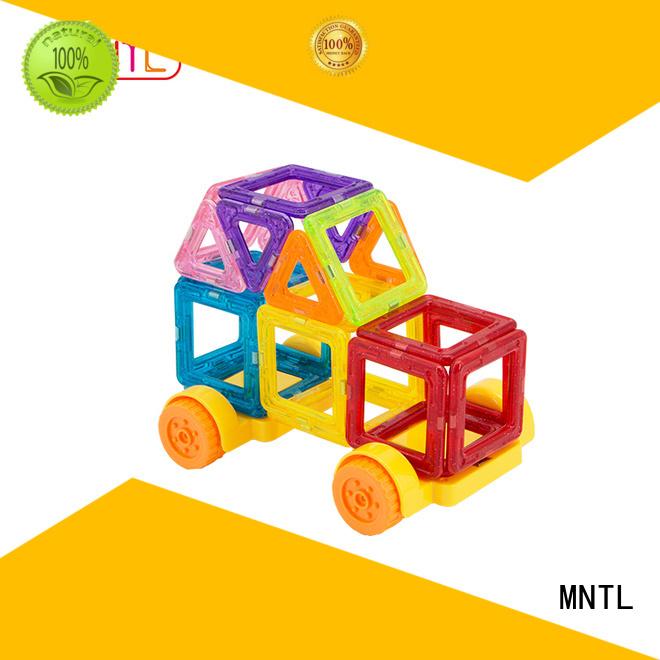 MNTL Best toy for children magnetic building block set supplier For Children
