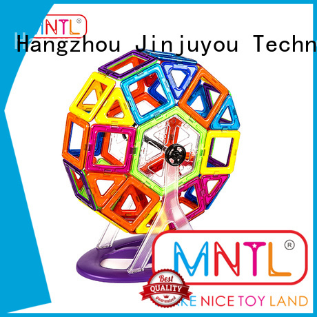 MNTL rose red Classic Magnetic Building Blocks Magnetic Construction Toys For Toddler
