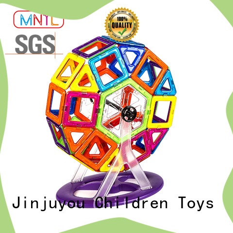 Hot building block Classic Magnetic Building Blocks rose red Best building block For Children