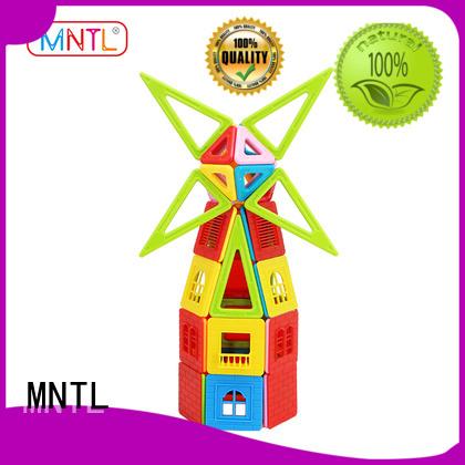 MNTL orange, magnetic building set Magnetic Construction Toys For Toddler