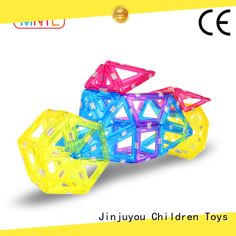 portable Crystal Magnetic Building Blocks Conventional free sample For Children
