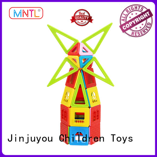 Newest Classic Magnetic Building Blocks rose red Best Toys For Toddler