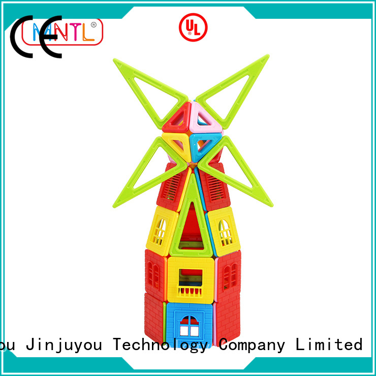 MNTL Red, Classic Magnetic Building Blocks Magnetic Construction Toys For Children
