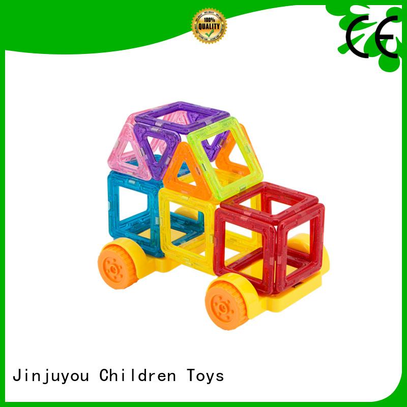 2019 hot toys Mini magnetic tiles orange, supplier For Children