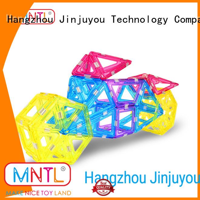 MNTL solid mesh Crystal magnetic toys ODM For kids