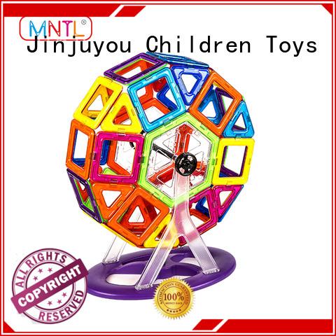 MNTL blue, magnetic blocks Magnetic Construction Toys For kids