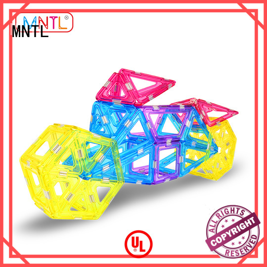 MNTL Conventional magnetic building blocks for toddlers customization For kids